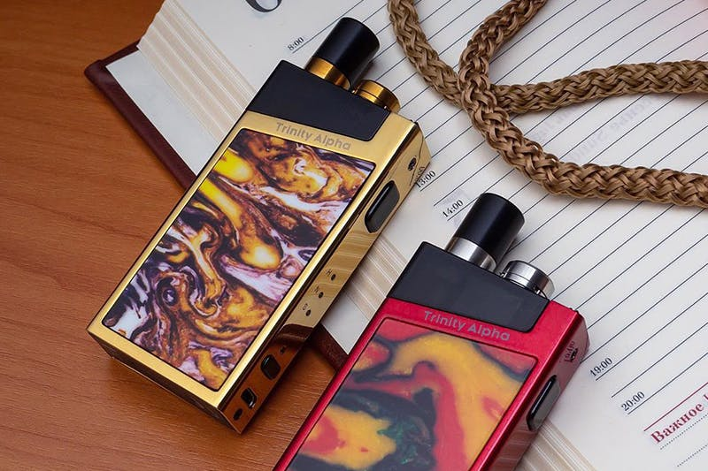 SMOK Trinity Alpha Review: An AIO Twist on the Nord - Vaping360