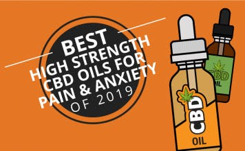 10 Best CBD Oil Tinctures for Pain & Anxiety 2019
