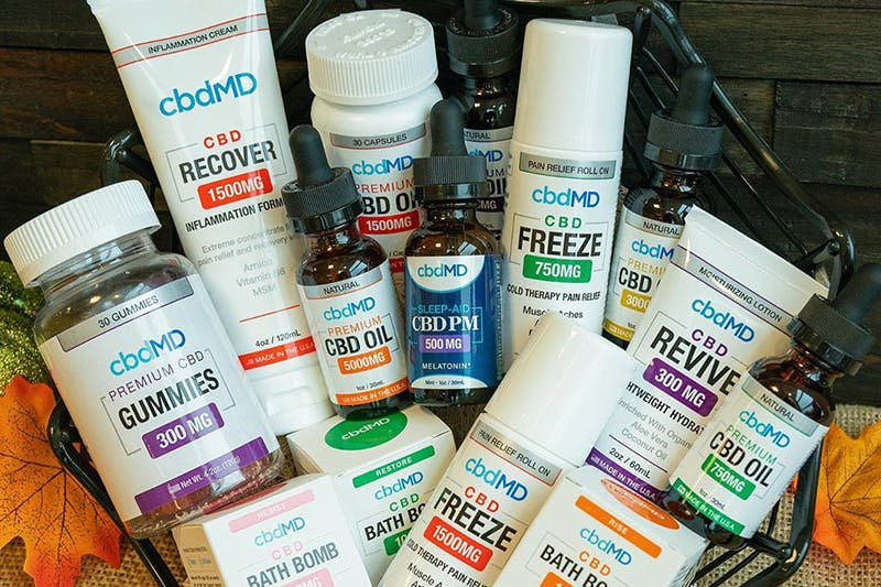 cbdMD Review: Some of the Most Potent CBD Oils & More