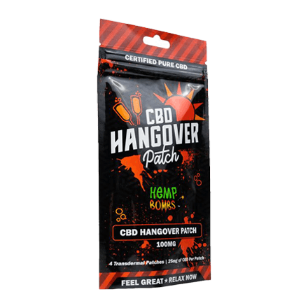 Hemb Bombs CBD Hangover Patch