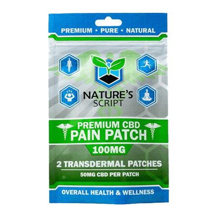 Nature's Script CBD Pain Patch