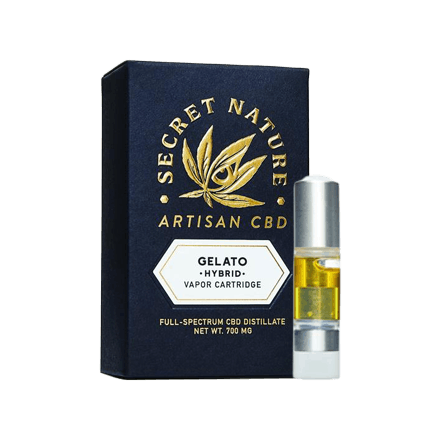 Secret Nature CBD vape Cartridge