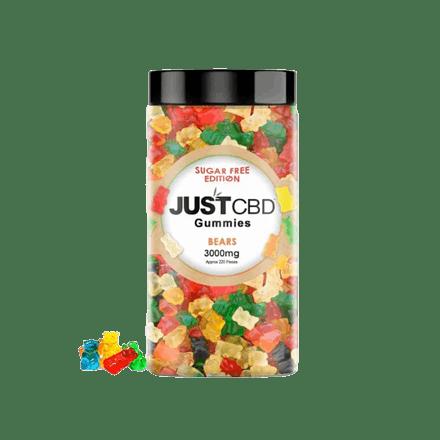 JustCBD Sugar Free CBD Gummies