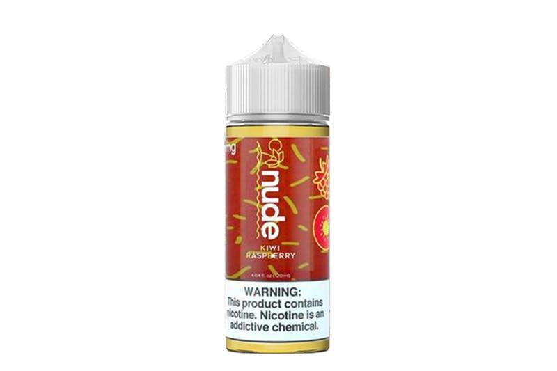 Nude e-liquid kiwi raspberry