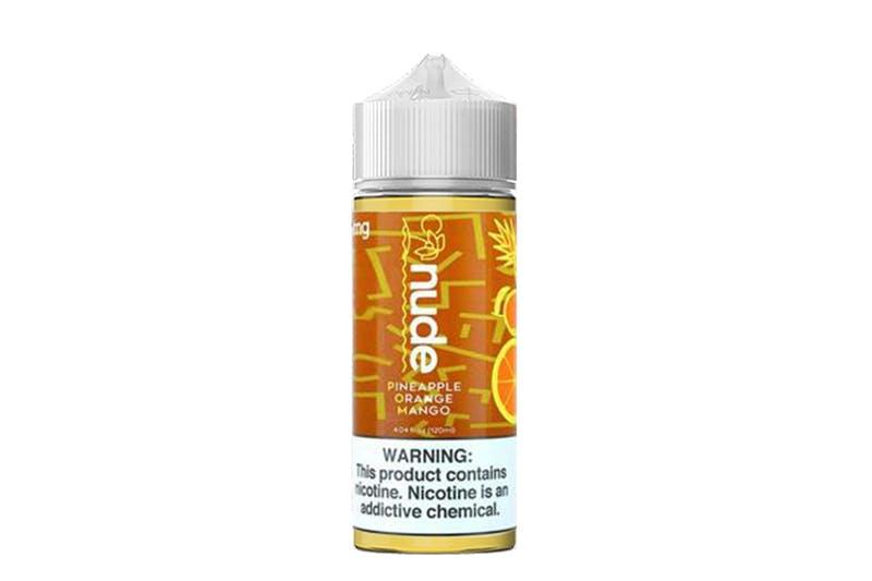 Nude e-liquidpineapple orange mango