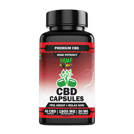 hemp bombs cbd high potency capsules