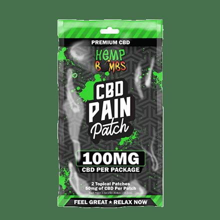 hemp bombs cbd pain patch