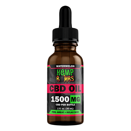 hemp bombs cbd tincture watermelon