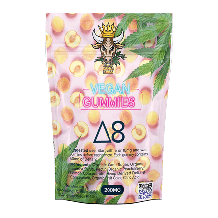 Canna Kings Delta 8 THC Vegan Gummies