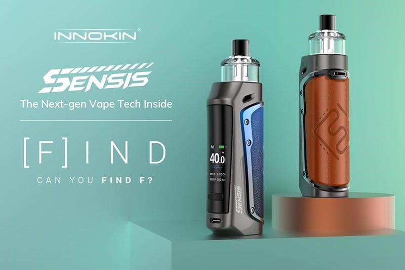 Innokin launches Sensis Pod Mod with the Next-Gen Vape Tech Inside