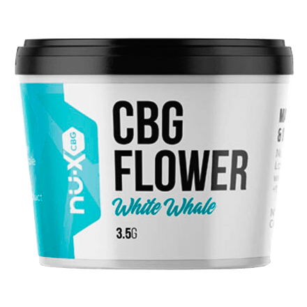 Nu X White Whale CBG Flower Can 3.5 Grams