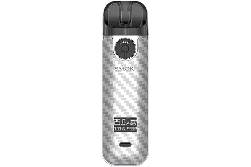 smok-novo-4-fluid-silver-carbon-fiber
