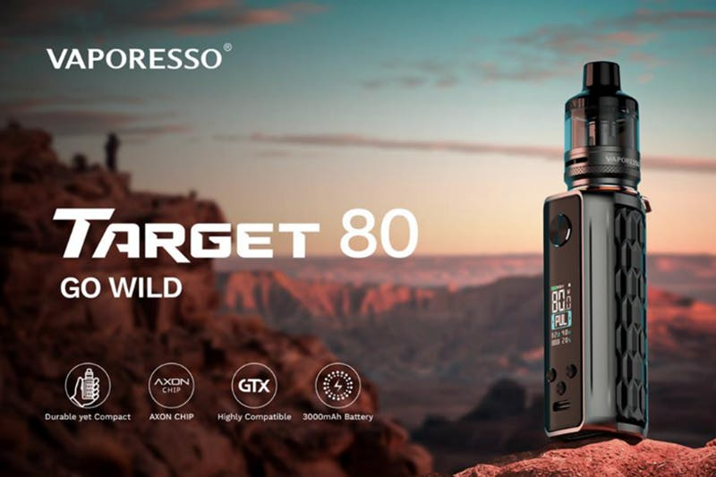 Press Release: VAPORESSO F(t) Mode in the Target 80 mod, a New Tech Ushers in a New Era