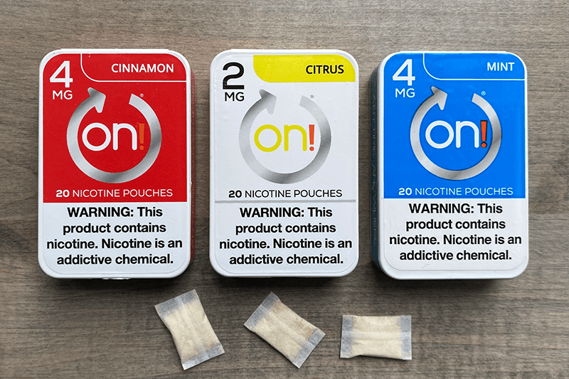 ON! Nicotine Pouches Review
